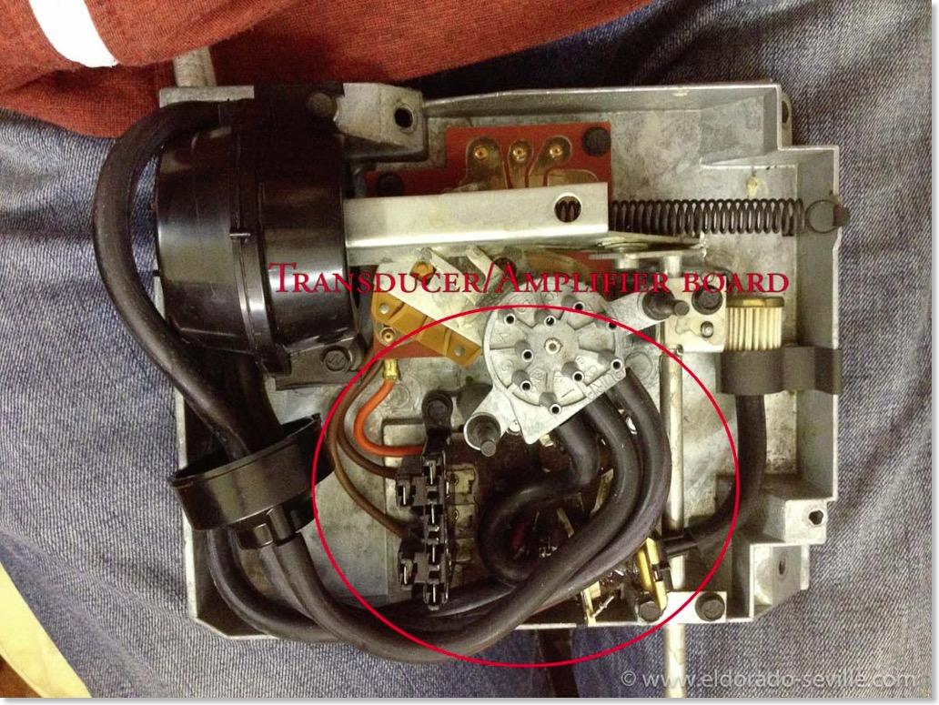 1978 Cadillac Eldorado Biarritz Geralds 1958 Ac Compressor Brackets Diagram For A Corvette The Mkii Programmer With Cover Removed