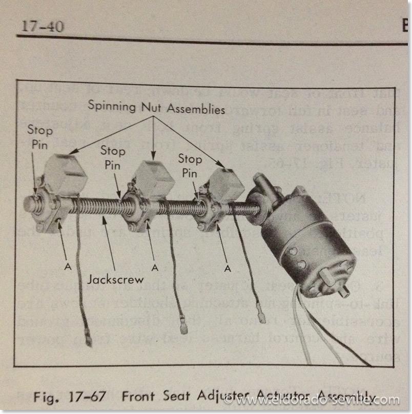 6 way power seat geralds 1958 cadillac eldorado seville wiring diagram cadillac power seat 2001