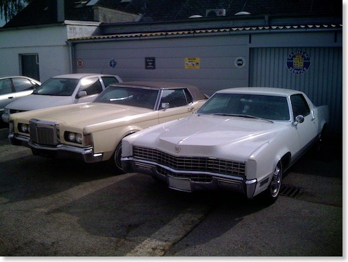 1967 Cadillac Eldorado and