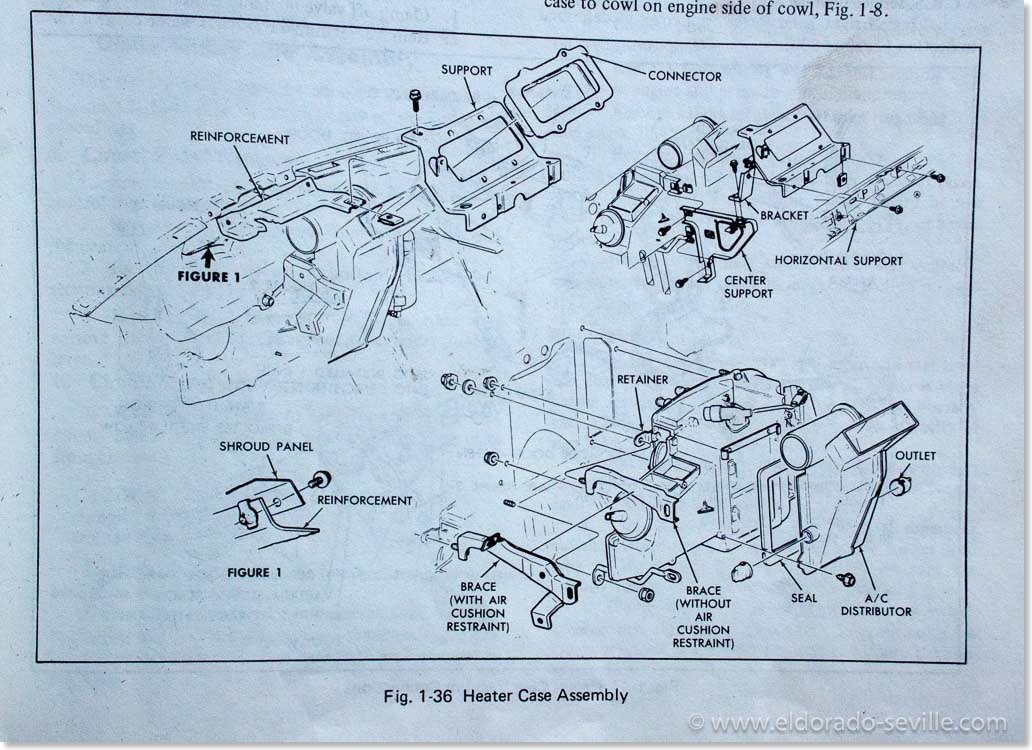 heater core geralds 1958 cadillac eldorado seville 1967 cadillac rh eldorado seville com 1977 Cadillac Biarritz 1979 Cadillac Biarritz