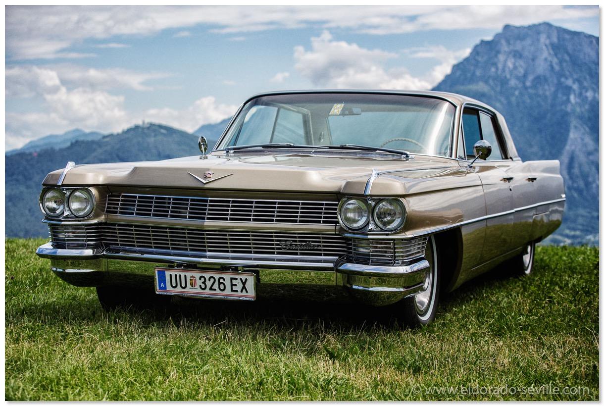 Driving Tour Geralds 1958 Cadillac Eldorado Seville 1967 Fuel Filter 1965 Deville In Rare Samoa Bronze Edge