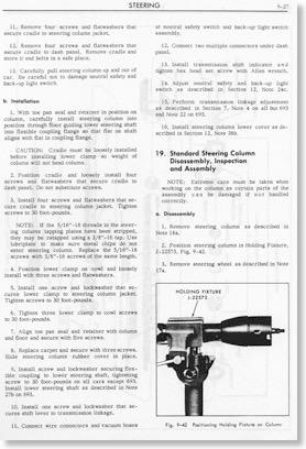 1967 Cadillac Eldorado >> Steering Column   Geralds 1958 Cadillac Eldorado Seville ...