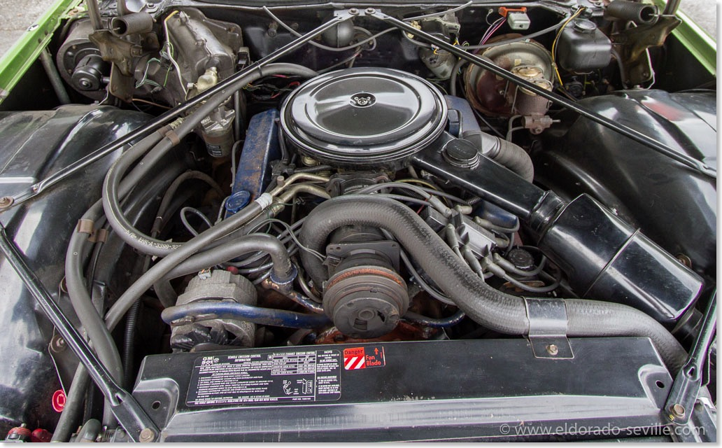 bill hirsch engine enamel geralds  cadillac eldorado