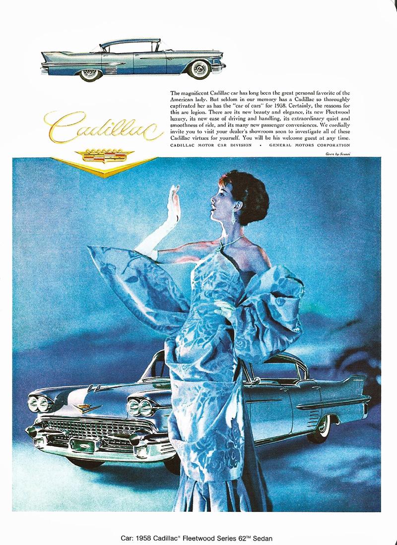1958 Cadillac Ads Www Eldorado Seville Com