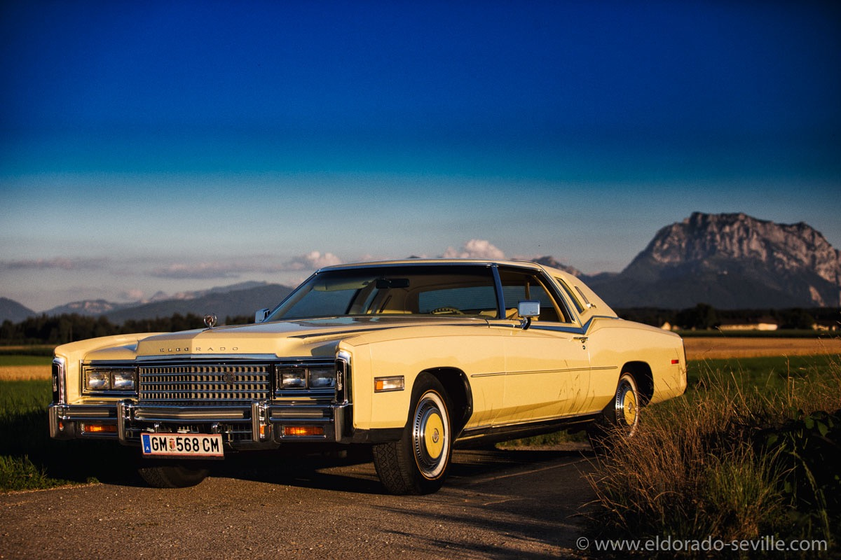Pictures Of My 1978 Cadillac Eldorado Biarritz Sedan Deville 4 Door Photoshooting During Sunset July 2016