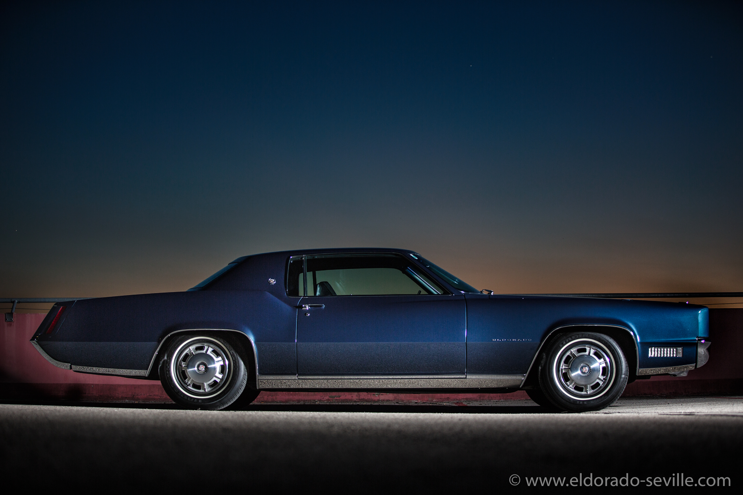 This page features pictures of my 1967 Cadillac Eldorado. Most of them were taken by my wife Afra.