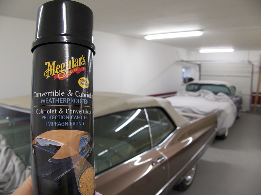 Convertible Top Geralds 1958 Cadillac Eldorado Seville 1967 Trunk Locks Wiring Diagram Of Except Brougham Meguiars Weatherproofer For Additional Protection