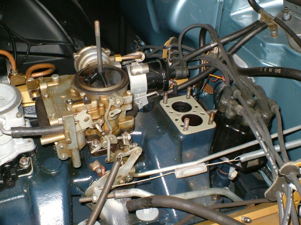 58 Carburetor Rebuilding Project Finished Geralds 1958