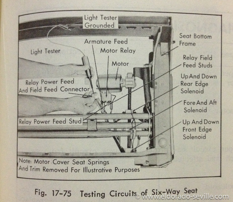 1958 cadillac power seat wiring diagram  1958  get free