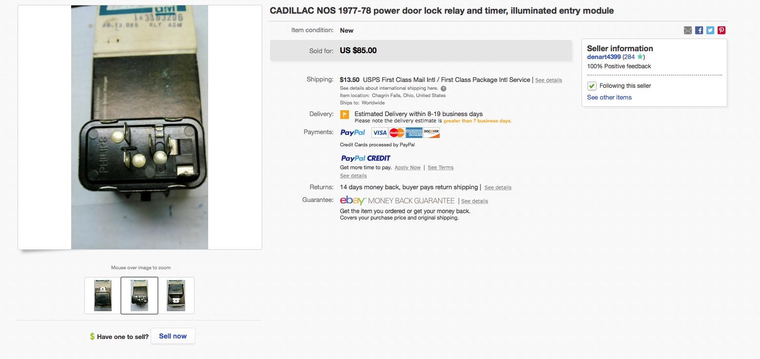 1978 Cadillac Repair Tip Geralds 1958 Eldorado Seville Trunk Locks Wiring Diagram Of Except Brougham Edge