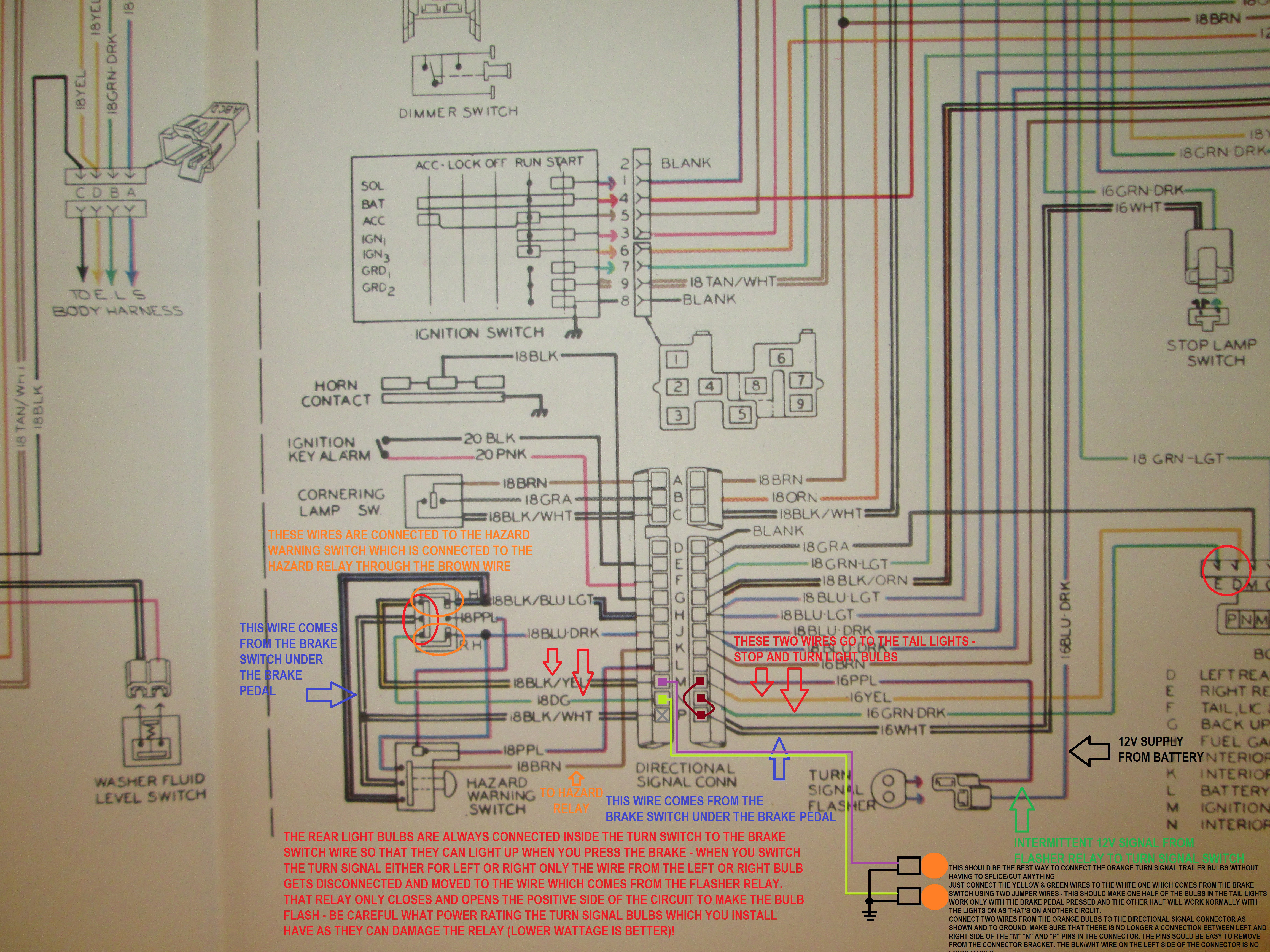 Wiring Diagram Blinker on 1966 Lincoln Continental Wiring Diagram