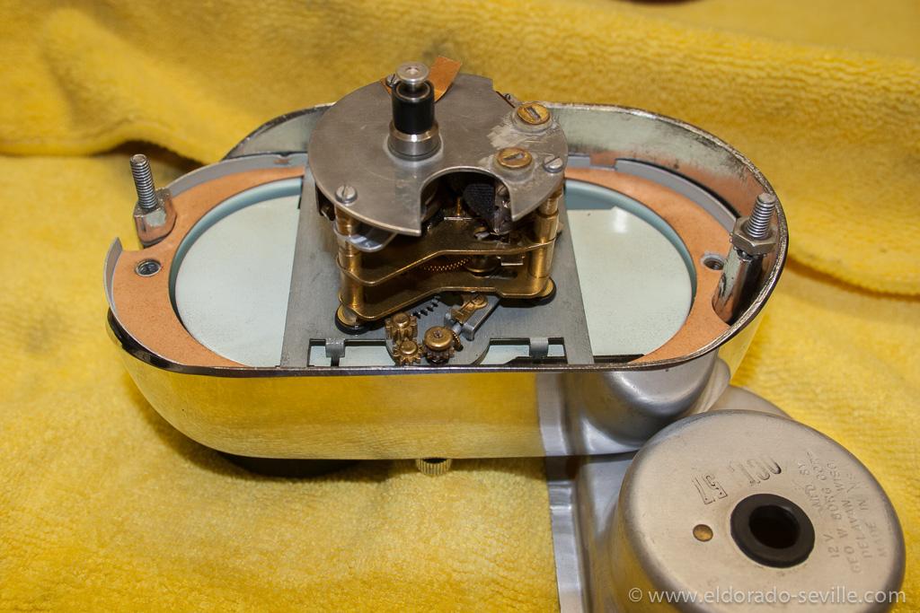 Clock   Geralds 1958 Cadillac Eldorado Seville, 1967 Cadillac