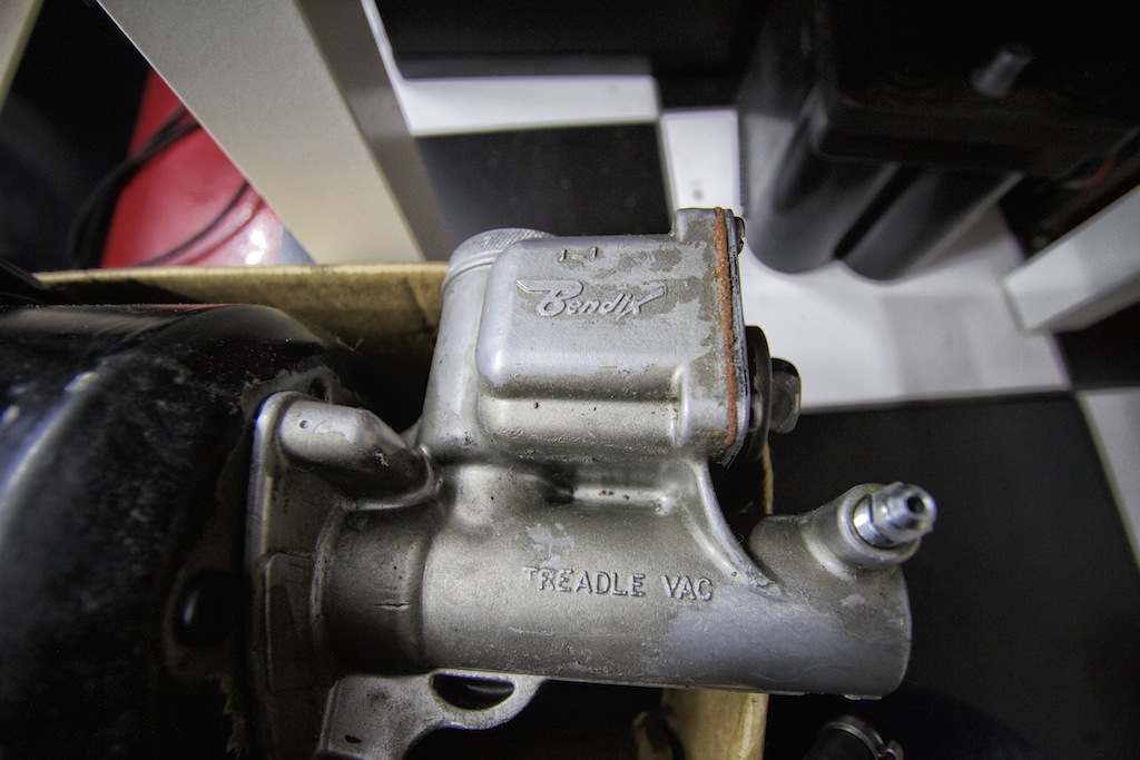 Repairing the Treadle Vac Master Cylinder and Brake Booster